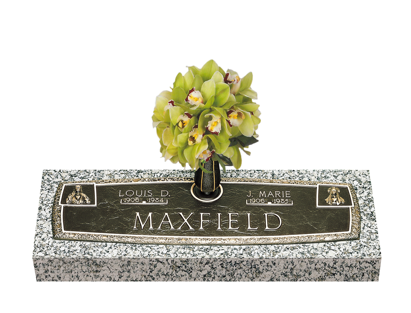 Companion bronze grave markers lovemarkers arc of tribute with vase reviewsmspy